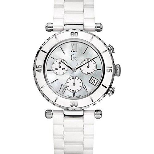 Gc Damen-Armbanduhr Diver Chic Chrono Chronograph Quarz Keramik I43001M1
