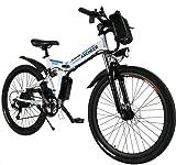 ANCHEER E-Bike Elektrofahrräder E Klapprad, 36V Akku, 26 '' faltbares Elektrofahrrad mit 250W Motor...