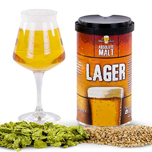 Birramia Absolute Malt Lager - Malta para Cerveza (1,7 kg)