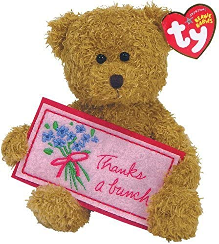 Ty Thanks a Bunch - Brown Bear by Ty