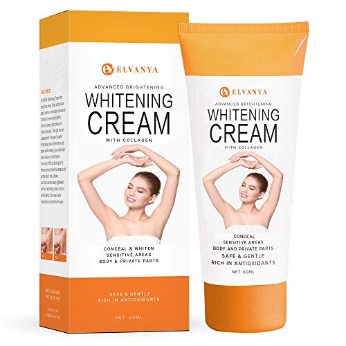 Underarm Cream - Effectively Brightening Cream - Brighten & Moisturizes Armpit, Neck, Knees, Private...