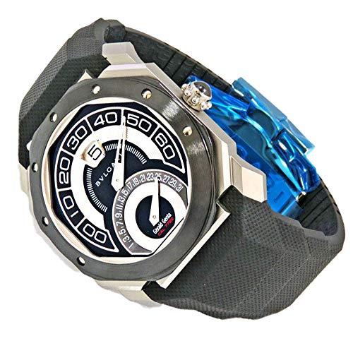 ブルガリBVLGARIオクトバイレトロジェラルド・ジェンタBGO43BSCVDBR新品腕時計メンズ(W159067)[並行輸入品]
