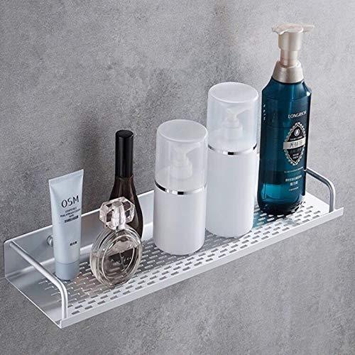 Duschablage, Duschregal ohne Bohren mit Patentierter Sticker, Multifunktions Dusche Ablage Duschkorb Duschaufbewahrung, Aluminium