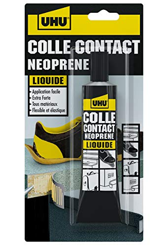 UHU Contact Néoprène liquide, tube 120 G, Transparent