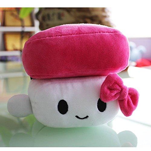 Crazy lin Japanisches Essen Sushi Kissen Kissen Plüsch Nickerchen Kissen Spielzeug Puppe Kinder Geschenke (Rose)
