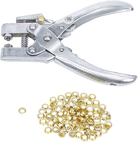 BGS 569 Ösenzange für Ösen Innendurchmesser 5mm inkl. 100 Ösen