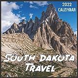 South Dakota Travel Calendar 2022: 2021-2022 South Dakota Weekly & Monthly Planner   2-Year Pocket Calendar   19 Months   Organizer   Agenda   Appointment   For South Dakota Lovers
