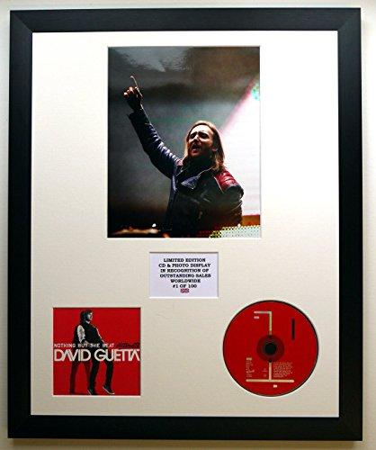 DAVID GUETTA/CADRE CD ET PHOTO/EDITION LIMITEE DE L'ALBUM/NOTHING BUT THE BEAT ULTIMATE