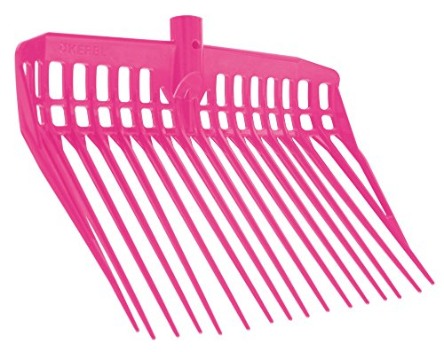 Kerbl 326054 Dunggabel Ecofork, ohne Stiel, pink