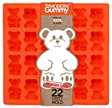 JUMBO size GUMMY BEAR Making Tray by the Modern Gummy, SILICONE, 24 cavity, Use to make Candy, Soap, Gelatin, Cupcake topper, Chocolate, Ice tray