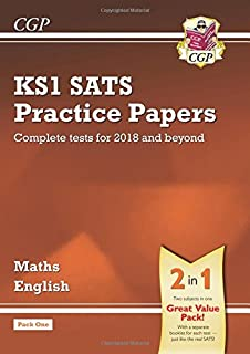 KS1 Maths and English SATS Practice Papers Pack (for the tests in 2018 and beyond) - Pack 1