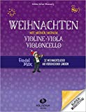 Weihnachten mit meiner/meinem Violine, Viola, Vc: Klavierbegleitung