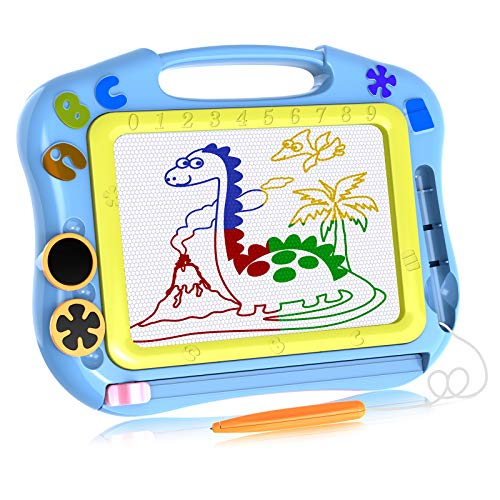Magna Board Gift for 1-3 Year Old Boys, Sketching Pad Boys Toys Age 1 2 3...