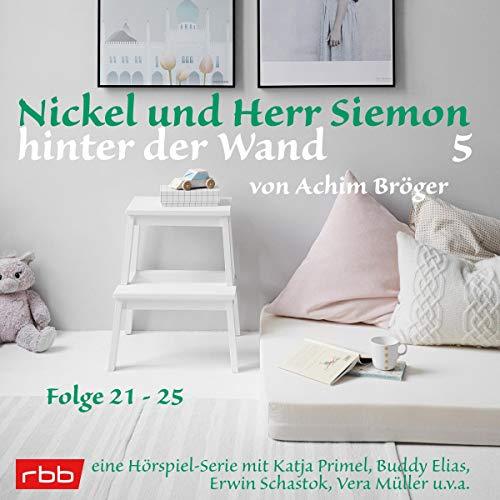 Nickel und Herr Siemon hinter der Wand 5 cover art