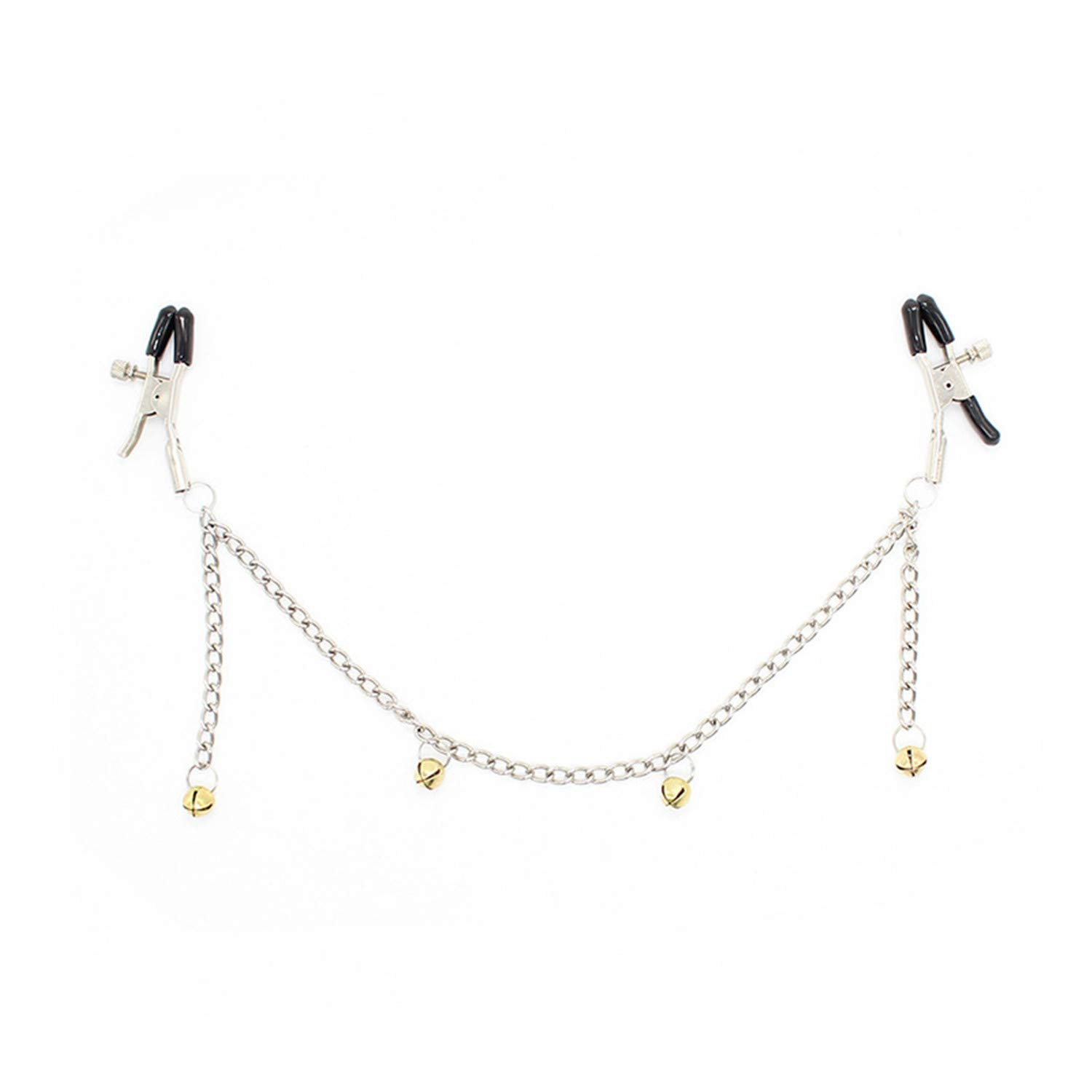 CHAOYIFANG Wonderful Stainless Steel Chains Metal Female Breast Nipple Clamps with Chain Clips Stimulator zqknpd6796405