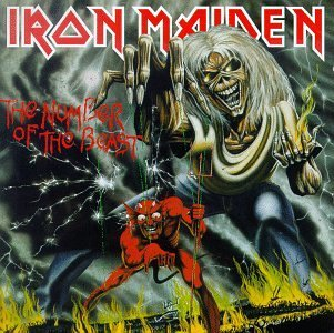 The Number of the Beast Original recording reissued, Import Edition by Iron Maiden (1998) Audio CD