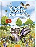 Das kleine Stinktier Riechtsogut: Lustiges Kinderbuch ab 3 Jahren, Top-Thema Kinderalltag 'Waschen', Anderssein und Identitätsfindung