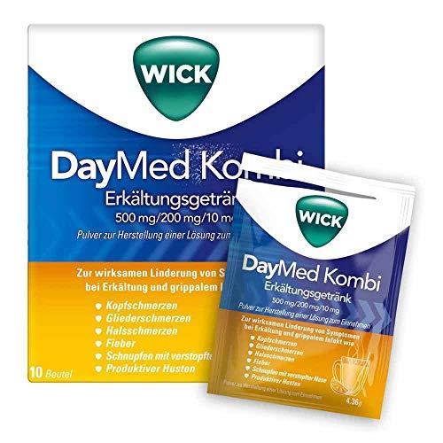 Wick DayMed Kombi Erkältungsgetränk Pulver, 10 St. Beutel
