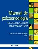 Manual de psicooncología: Tratamientos psicológicos en pacientes con cáncer (Psicología)
