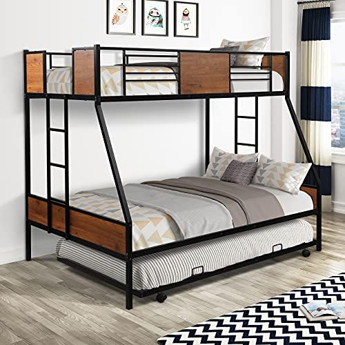 Lokee Twin Over Full heavy duty Metal Bunk Bed