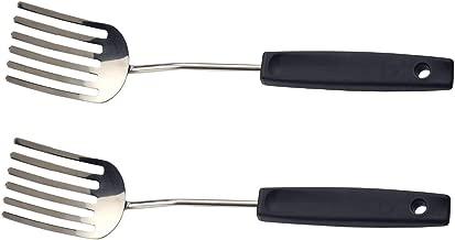 RSVP Fantastic Food Blending Fork Stainless Steel Scrambled Eggs FFF-10 (2-Pack)