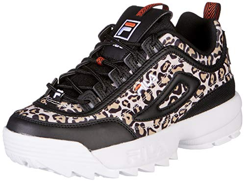 FILA DISRUPTOR ANIMAL WMN Sneakers dames Zwart Lage sneakers
