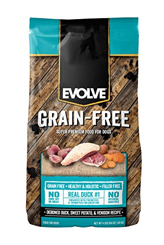 Evolve Grain-Free Deboned Duck, Sweet Potato And Venison Recipe