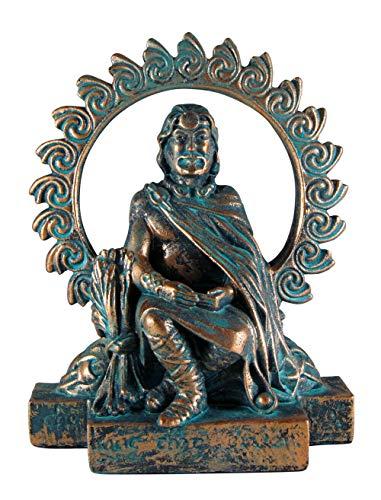 Small Lugh Figurine Statue God Celtic of Harvest Druid Wicca Pagan Statue Dryad Design