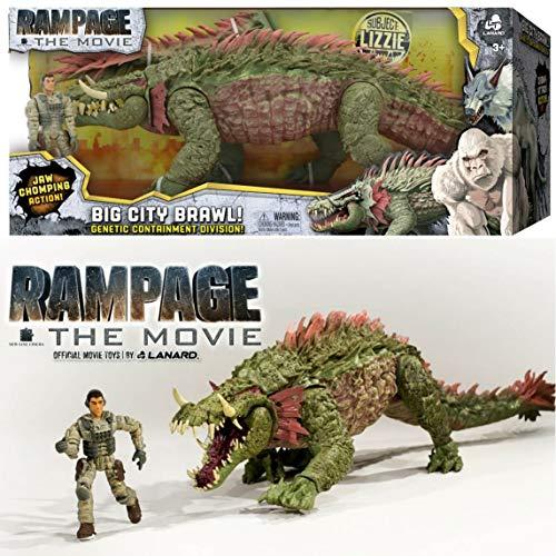 Rampage The Movie Big City Brawl Subject Lizzie