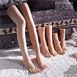 AFYH 1 Paire Réaliste Silicone Mannequin Pied Jambes, Modèle de Jambe Sexy réaliste 100% réel 4D et Beau modèle de Pied, modèle de Jambe Magnifique Taille réelle 39A,Calves,A Pair