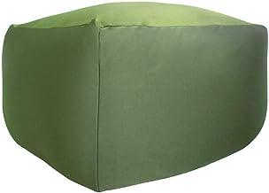 ビーズクッション 特大 キューブ タイプ Beads Cushion BodyFit XLサイズ 9色 (GN グリーン) 国産 マイクロビーズ 一人掛け ビーズソファ