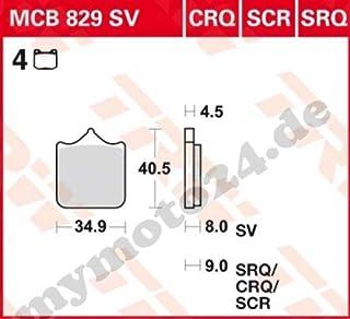 Bremsbelag TRW Lucas MCB519SI Sinter Offroad mit ABE f/ür Aeon Cobra 320 Baujahr 2008