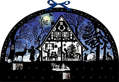 Wandkalender – Lichterbogen Weihnachtswald