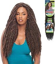 "Janet Collection Noir 2X Havana Twist Mambo Twist 24"" Braid-4 Packs Deal (1B) #OFF BLACK"