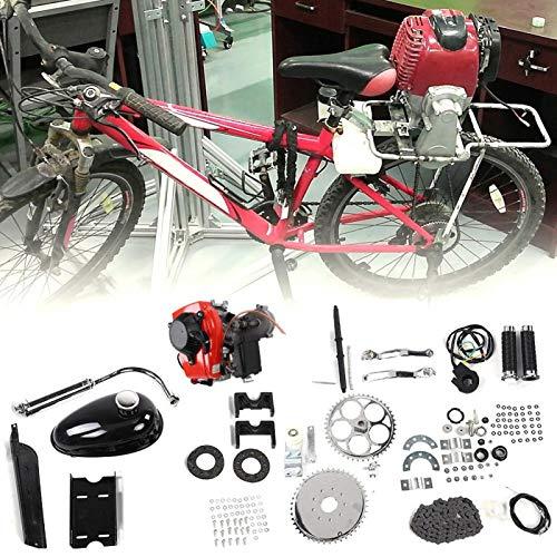 Kit de motor de gasolina Kit de motor de gasolina más silencioso práctico para modificación de bicicleta motorizada