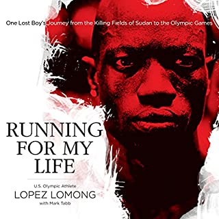 Running for My Life audiobook cover art