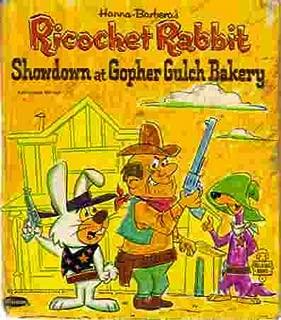 Hanna Barbera's Ricochet Rabbit: Showdown at Gopher Gulch Bakery