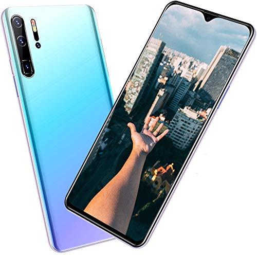 Smart Phone, P30 Pro Unlocked 4G Smart Phone SIM Free Call 6.3inHD 4G LTE 5G 8+512GB, 13MP+24MP3 Camera 4800mAh Face Recognition