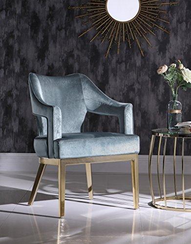 sillón terciopelo fabricante Iconic Home