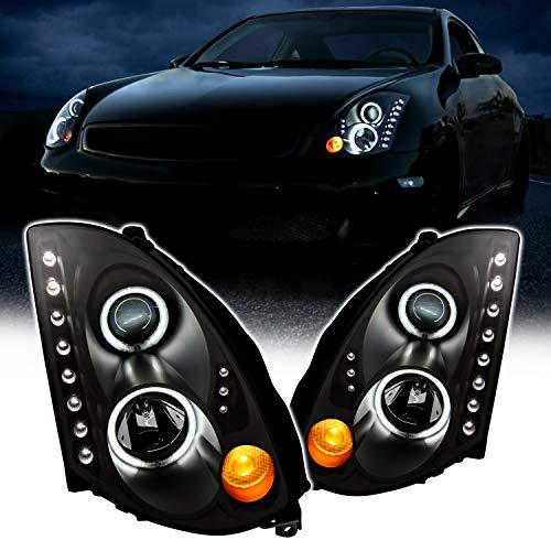 03 g35 headlights coupe - 2