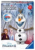 Ravensburger 11157 Disney Frozen 2 Olaf - 54 Piece 3D Jigsaw Puzzle for Kids and Adults - Easy Click Technology Means Pieces Fit Together Perfectly, No Glue Required, Multi