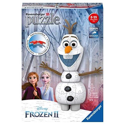 Olaf Ravensburger Frozen 2 3D Puzzle, Multicolore, 11157