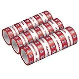Amscan 9906518 - FC Bayern München Luftschlangen, 3 Stück, Größe 1,4 x 400 cm, Farbe: Blau, Weiß u. Rot, aus Papier, perfekt für das Fest beim Fanclub oder die Fußball-Mottoparty, Partyzubehör