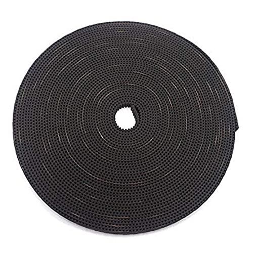 Finebrand 3d Timing Belt Gt2 Impresora Impresión 3d Transmisión 2mm Paso 6 Mm Ancho De Goma De Fibra De Vidrio Accessaries 10m Negro