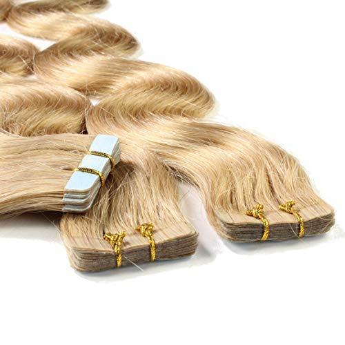 Hair2Heart 20 x 2.5g Extensiones adhesivas pelo natural