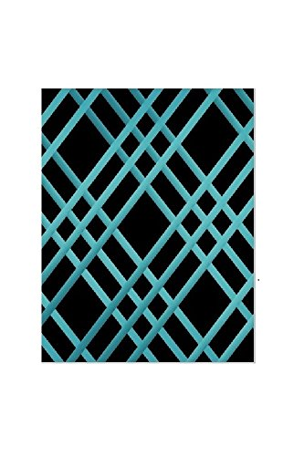 """Bulletin-Memo Board and Picture Frame: Black and Teal (Small (15"""" x 20""""))"""