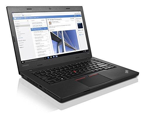 'Lenovo ThinkPad L460–20fus0jc02–Intel Core i7–6500U Dual Core 2.50GHz, RAM 8GB, 256GB Solid State, Bluetooth 4.1, 6Cell Battery, 14FHD Screen (1920X 1080), Windows 10Professional (64Bit), WWAN upgrad eable, No Camera, Language: German
