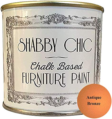 Shabby Chic Chalk Paint Pittura A Gesso Per Mobili, Superficie Opaca, Bianco Gesso (Chalky White), 250Ml