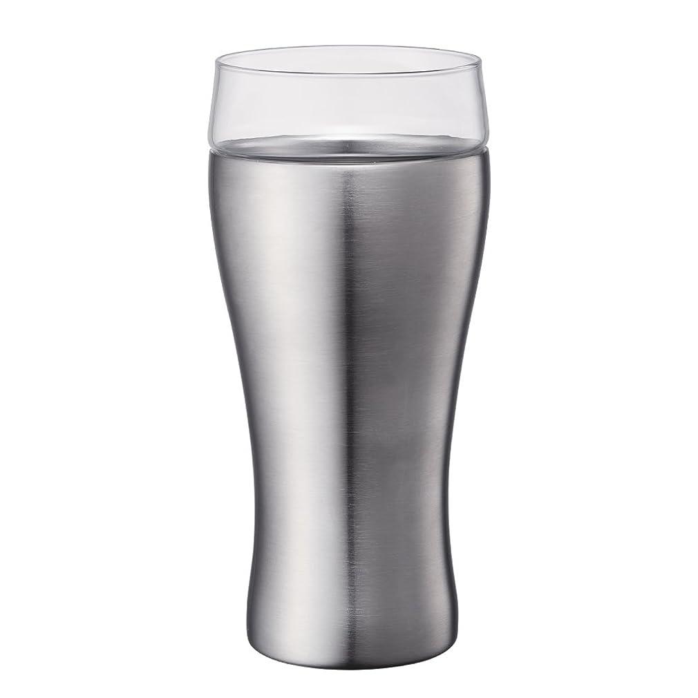 惑星目を覚ますトレーダードウシシャ ビールタンブラー ON℃ZONE (オンドゾーン) 飲みごこち 420ml マット OZNB-420MT