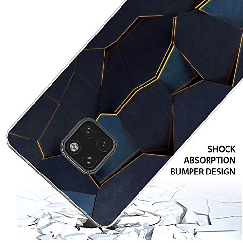 18eay kompatibel mit Huawei Mate 20 Pro Hülle Clear Protective Tasche Hülle TPU Silikon Elefant Hase Design Handyhülle Transparent Schutzhülle für Huawei Mate 20 (6, Huawei Mate 20 Pro) - 3